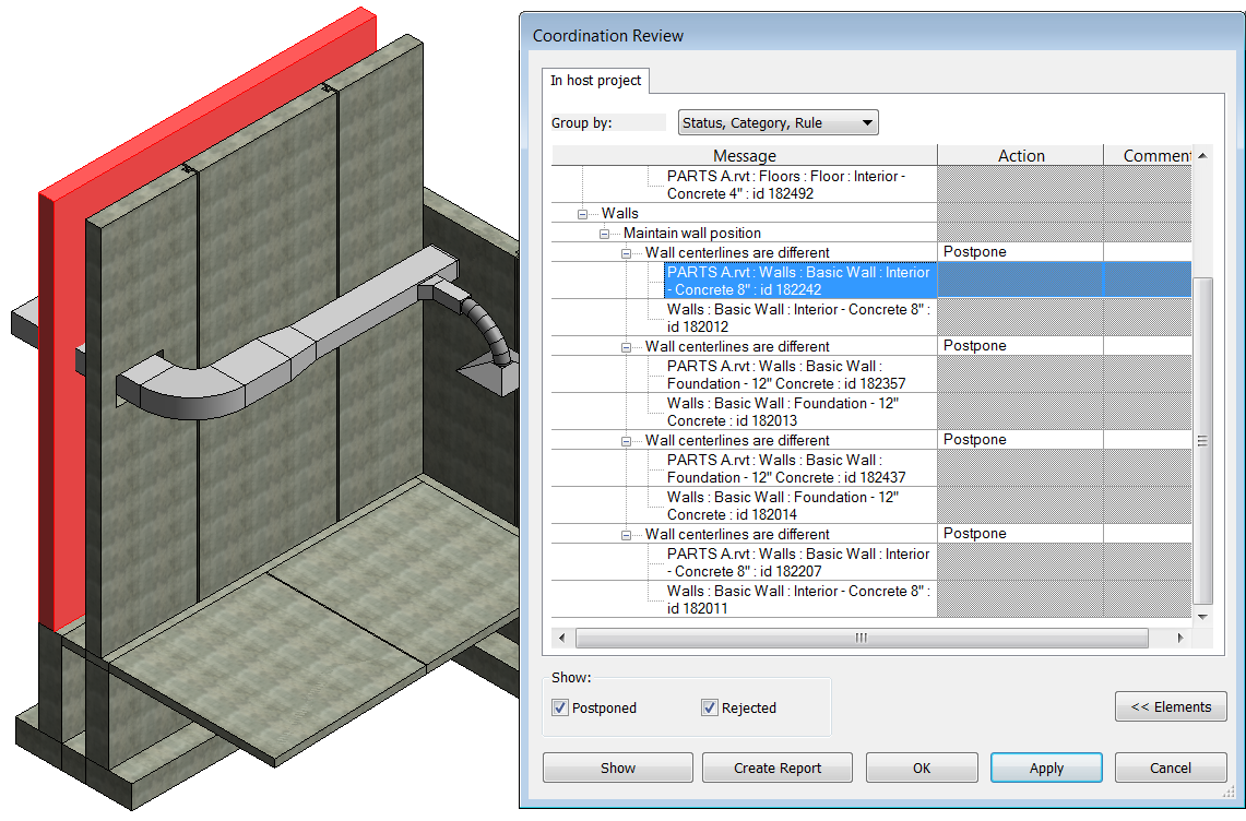 Using Parts in Autodesk® Revit® | Synergis Engineering Design Solutions