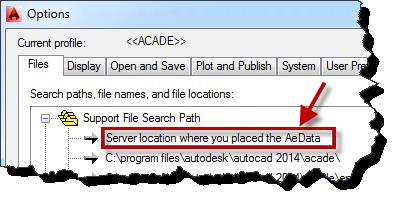 Modifying the Environment File in AutoCAD® Electrical