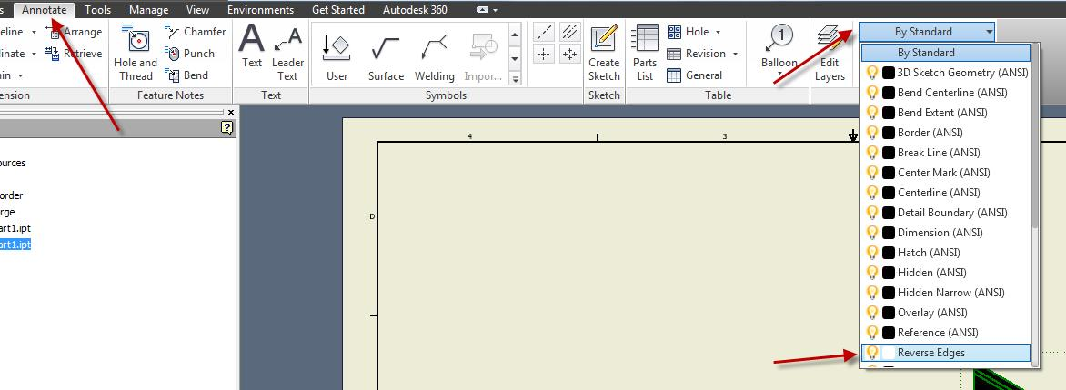 Working with Inventor Drawing Colors | Synergis Engineering Design