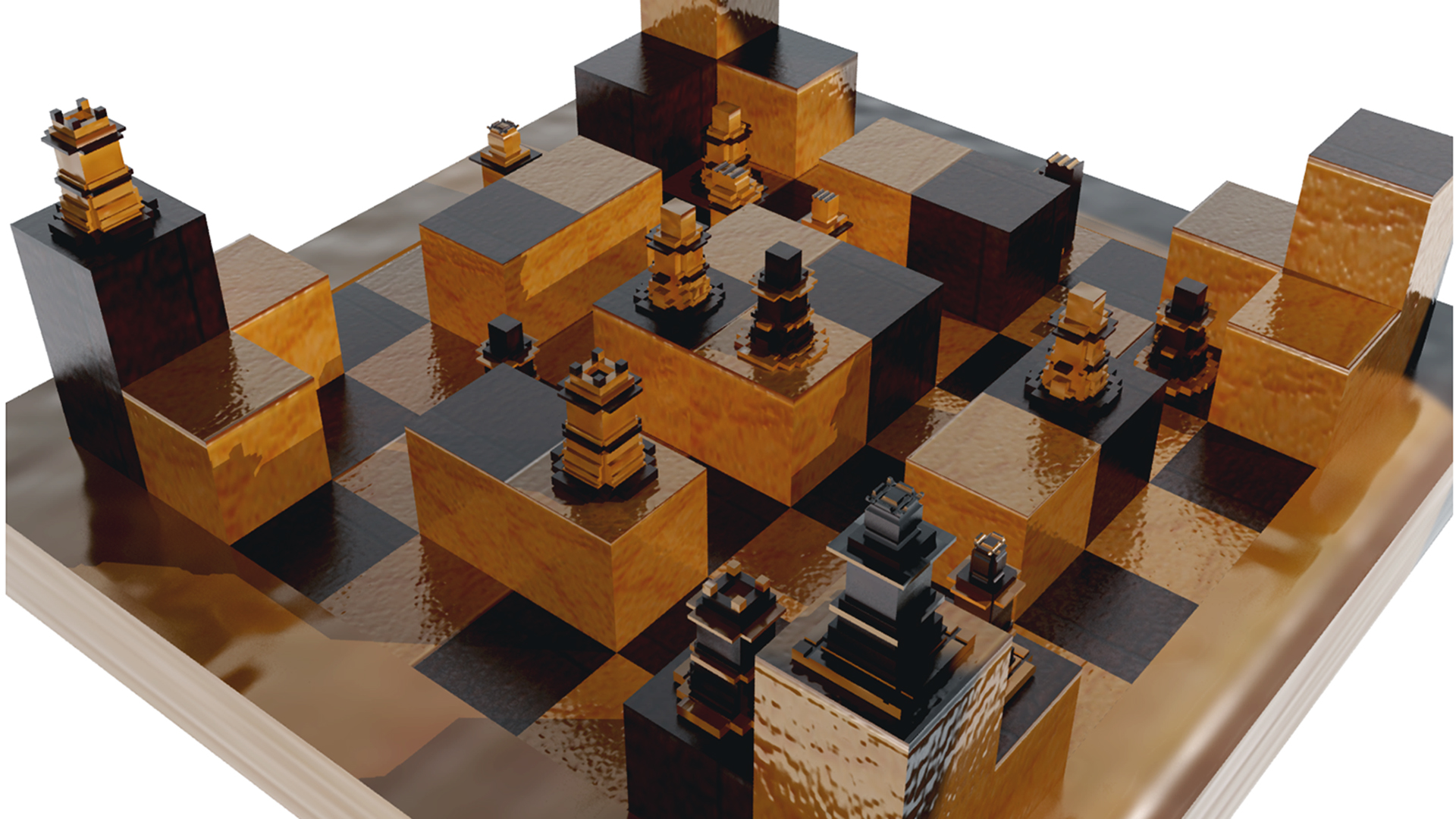ChessSet_FoundationYear_AmarSohan_1stYear_DigitalDesign