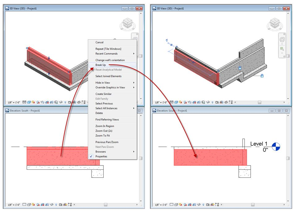 More Basics with Revit Walls: Profiling Your Foundation