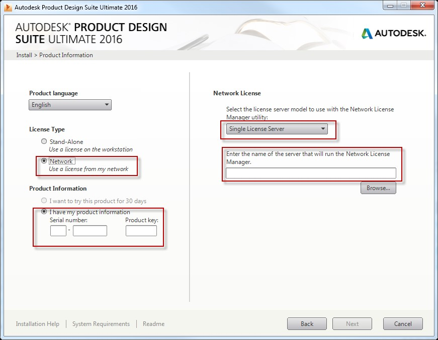 Autodesk 2016 Product – Network License Check List