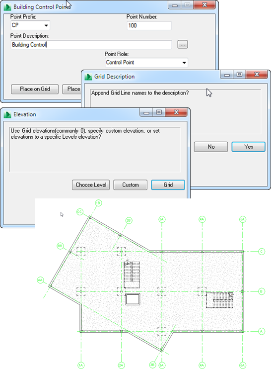 Using Revit to add Building Control Points with Autodesk Point