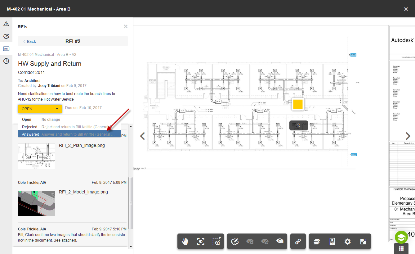 BIM 360 Docs – Leveraging the new RFI preview  | Synergis
